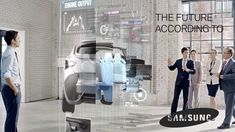 Samsung, which makes some of the best displays in the world, imagines that one day its screens will be on everything from coffee mugs to car windows. The following concept video shows how that could happen. It may sound a little like the Jetsons today. Samsung sees a world where everything, even your coffee mug, has a display that can show you relevant information. It may seem a little over the top right now, but a lot of this isn't that far off.