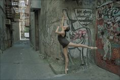 Dane Shitagi, a New York City photographer who has a exceptionally unique approach to photography. Like a dream becoming reality the Ballerina Project is an ongoing series of photographs Dancers Among Us, Dance Training, Visual And Performing Arts, Ballerina Project, Dance Photos, Dance Pictures, Lower East Side, Street Artists, Ballet Dancers