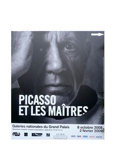 Picasso et les maîtres. Grand Palais. 2008-2009
