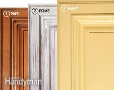How to Paint Kitchen Cabinets | The Family Handyman