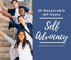 35 Measurable Self Advocacy/Self Determination IEP Goals. - A Day In Our Shoes Iep School, Life Skills Classroom, Classroom Ideas, Self Advocacy, Preschool Special Education, What Is Self, Self Determination, Goals And Objectives, Study Skills