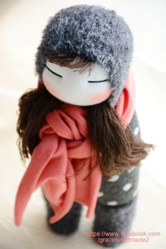 Grace--#243 sock doll