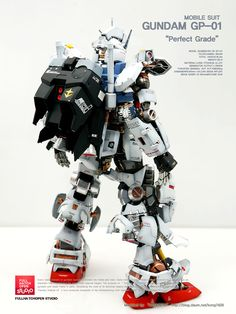 ACOUSTIC's Latest work: PG 1/60 RX-78 GP-01 GUNDAM Full Hatch Open: Photo Review Big Size Images | GUNJAP