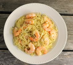 One Pot Garlic Shrimp and Pasta