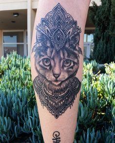 Mandala cat tat