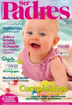La portada de junio 2014 de SER PADRES