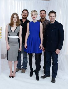 The cast of American Hustle