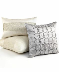 Hotel Collection Bedding, Calligraphy Decorative Pillow Collection - Bedding Collections - Bed & Bath - Macy's