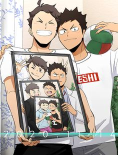 Haikyuu Manga, Manga Anime, Haikyuu Karasuno, Haikyuu Funny, Haikyuu Fanart, Fanarts Anime, Anime Boys, Cute Anime Guys, Anime Crossover