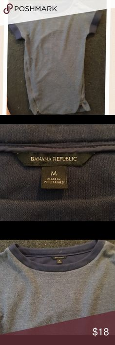 Cool dress with side zippers! Great condition! Banana Republic Dresses