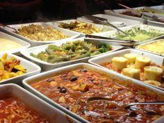 Kilo buffet restaurant in Rio de Janeiro