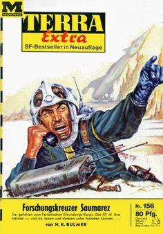 Terra Extra 156 Forschungskreuzer Saumarez DEFIANCE