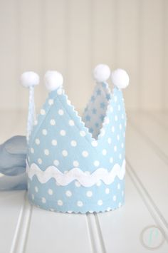 Little prince fabric crown #party