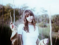 Felicity Jones shot by Elliot Lee Hazel in So It Goes