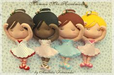 Bailarinas by Mamma Mia Handmade, via Flickr