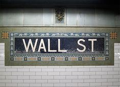 Mosaics in the New York subway