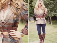 country chic outfit