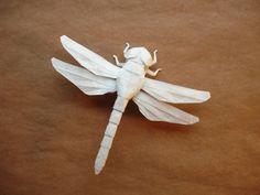 New Dragonfly by origami-artist-galen.deviantart.com