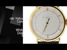 Vacheron Constantin 18K Yellow Gold Mechanical Watch   discount watches   300watches