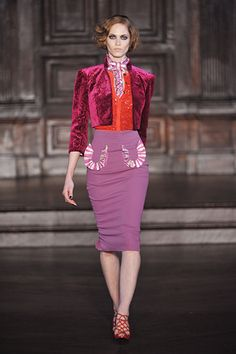 l'wren scott fall 2012 >> the most colorful, versatile collection for fall 2012 i've seen yet! those pockets = killer.