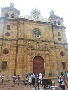 Iglesia San Pedro Claver . Cartagena.
