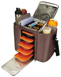 6 Pack Fitness Bag - Perfect for packing all your meals during a long day at work or running around doing errands.