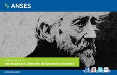 1 de junio. Aniversario del Nacimiento de Macedonio Fernández