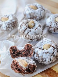 The fabulous almond crunchy - HQ Recipes Italian Cookie Recipes, Italian Cookies, Italian Desserts, Baking Recipes, Biscotti Cookies, Almond Cookies, Great Desserts, Mini Desserts, Biscuit Sans Gluten