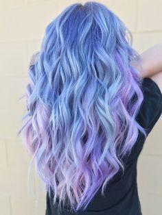 Vivid Hair Color, Pretty Hair Color, Hair Dye Colors, Crazy Hair Colour, Pastel Hair Colors, Lavender Hair Colors, Lavender Nails, Pink Color, Color Black