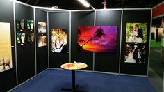 The photographers at this show simply loved the quality of the Chromaluxe prints we did on the metal and wooden panels. The sunset one was the winner this show.