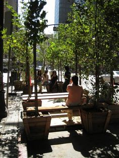 Visiting 5 of Park[ing] Day's Temporary Parklets Across LA