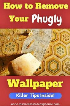 How to strip wallpaper from your home: http://www.scoop.it/t/real-estate-by-bill-gassett/p/4065606127/2016/06/24/how-to-get-rid-of-wallpaper