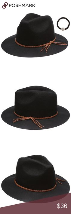 169e595b4dfc8 Black as Night Women s Winter Fedora- Black New Available in 2 colors.