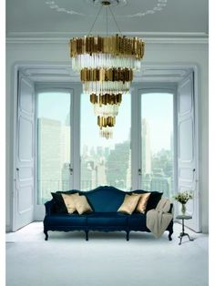 Empire Chandelier  #inspirations #designinspiration #moderninteriordesign decorate, interior design, luxury design . See more inspirations at www.luxxu.net