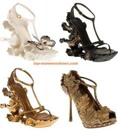 Alexander McQueen shoes Spring/Summer 2011.