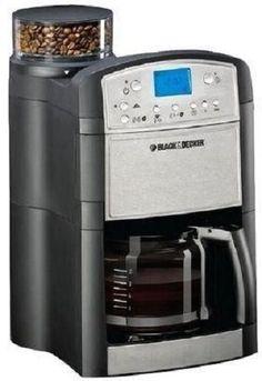 Black & Decker PRCM500 Coffee Maker & Coffee Grinder, 220 Volts (Not for USA)