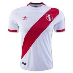 Peru 15/16 Home Soccer Jersey