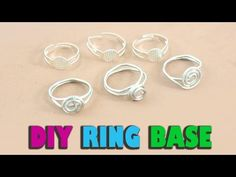 DIY Homemade Ring Base - Jewelry Crafts - YouTube