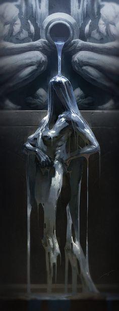 Pierre Droal,Fantasy,Fantasy art,art,арт,красивые картинки,невидимка