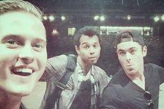 Awwwww, the High School Musical boys... Zac (Troy), Lucus (Ryan) & my favorite Corbin (Chad)!!!