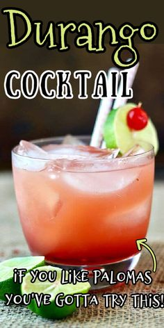 This refreshing cocktail is made with grapefruit juice, reposado tequila, and amaretto for a smooth, refreshing drink that's as good at brunch as it is in the evening.  #grapefruit #amaretto #tequila #brunch #cocktail Refreshing Cocktails, Easy Cocktails, Cocktail Recipes, Tequila Soda, Alcoholic Drinks, Beverages, Brunch Drinks, Easy Drink Recipes, Grapefruit Juice