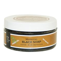 Moroccan Black Soap - Argan Oil - The Healing Soap - 8 OZ ** Details can be found at