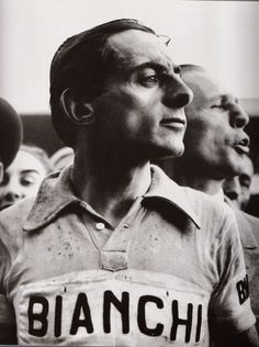 Fausto Coppi. One of the best cyclists ever.