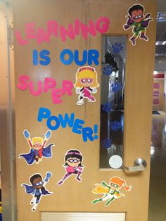 The door to my classroom. Can't wait for a *super* year!!