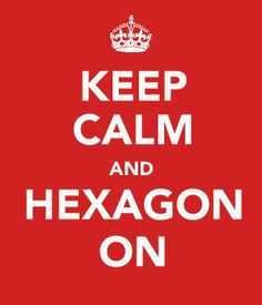 Lorena's Patchwork & Quilting Notes: Keep Calm and Hexagon On