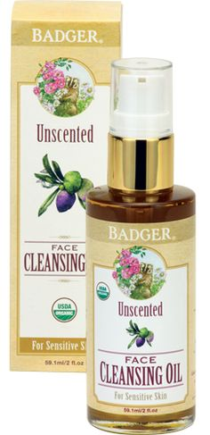 Badger Balm Unscented Face Cleansing Oil For Sensitive Skin  $17.99 - from Well.ca