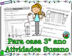 Para casa 3º ano matemática - Atividades Adriana