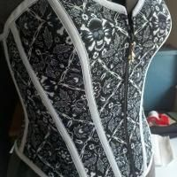 Sewing: skullbilly corset