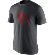 354383ed2 Arizona Cardinals Nike NFL Men s Team Travel Dri-Fit Cotton T-Shirt Sports  Fan