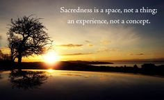 Scared is what happens when the sacred gets scrambled. Read more: http://ow.ly/w4TM9